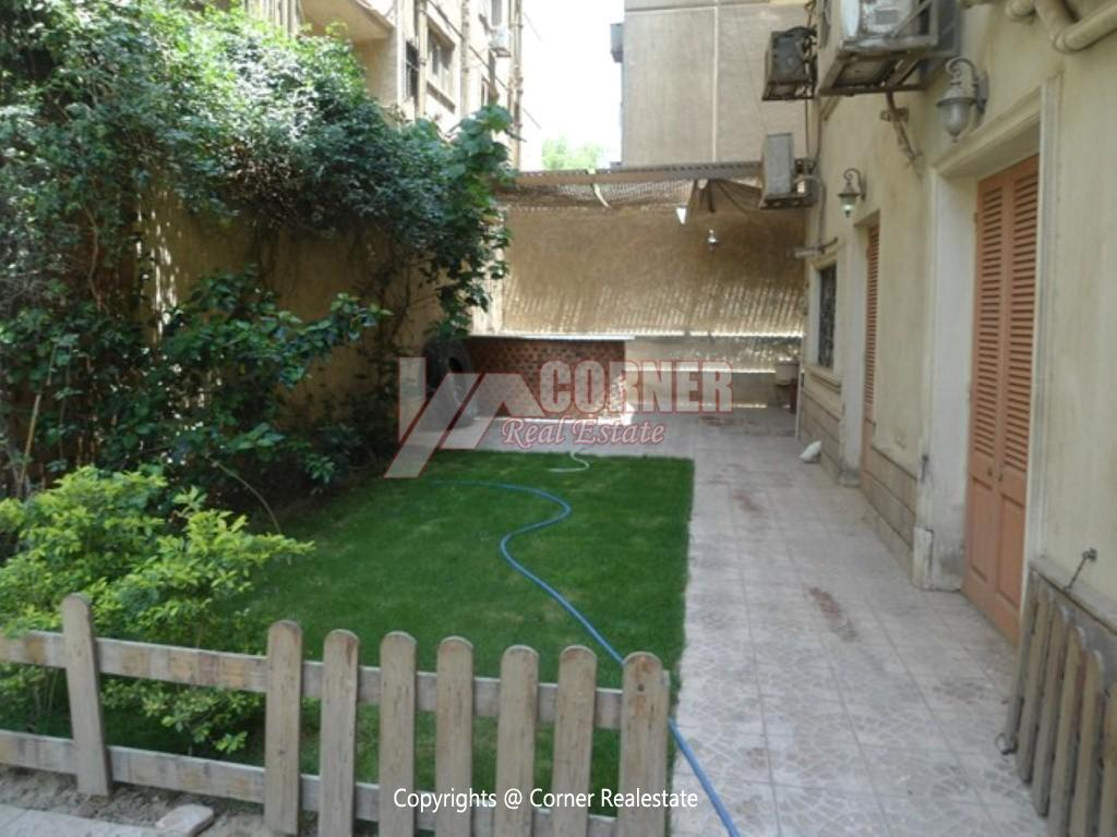 Ground Floor With Private Pool For Rent in Maadi,Modern Furnished,Ground Floor NO #5