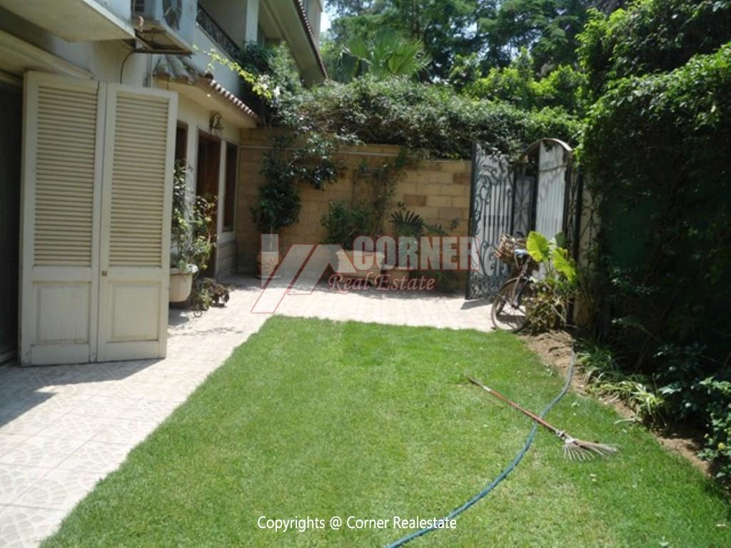 Ground Floor With Private Pool For Rent in Maadi,Modern Furnished,Ground Floor NO #3