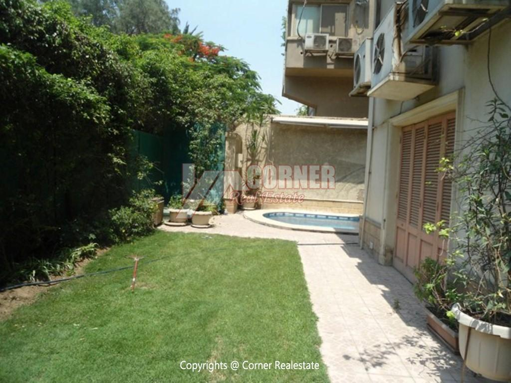 Ground Floor With Private Pool For Rent in Maadi,Modern Furnished,Ground Floor NO #2