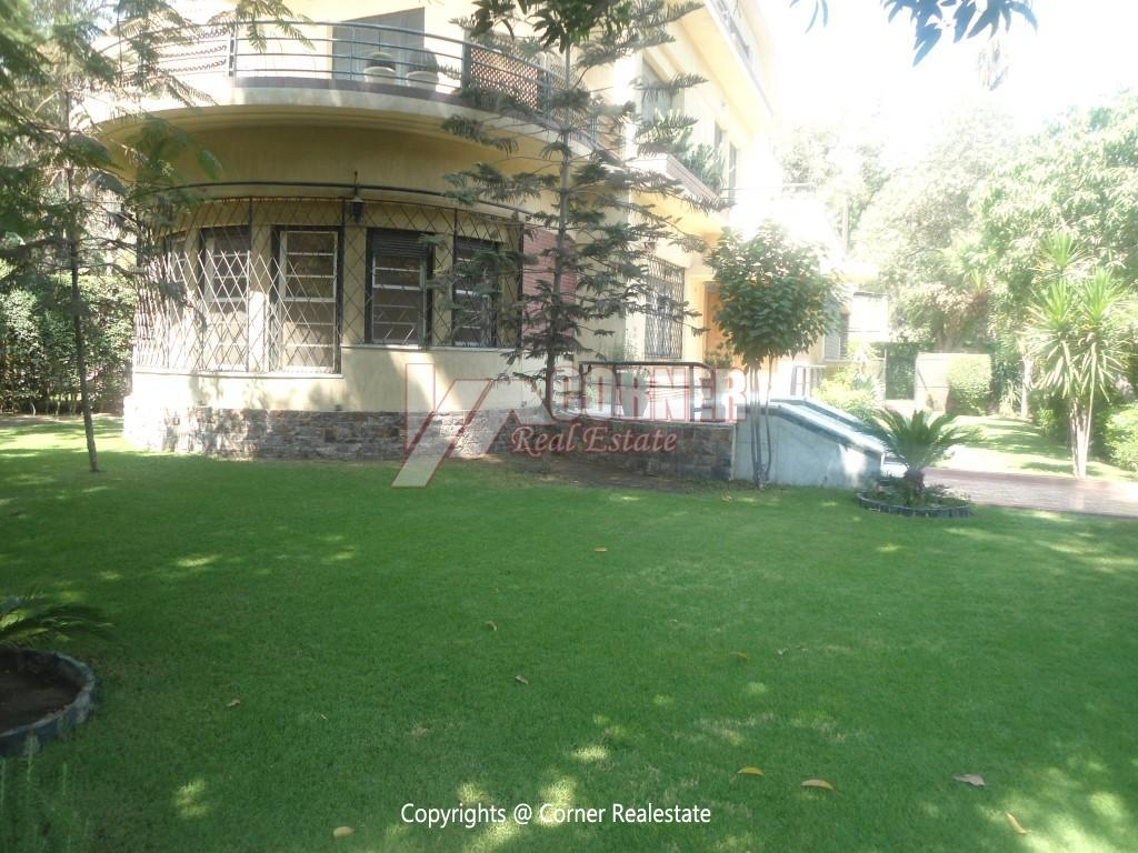 Ground Floor With Private Garden For Rent in Maadi,Semi furnished,Ground Floor NO #14