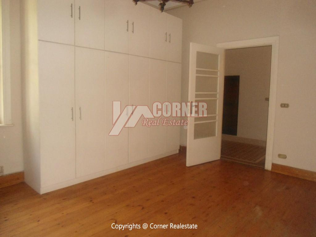 Ground Floor With Private Garden For Rent in Maadi,Semi furnished,Ground Floor NO #8