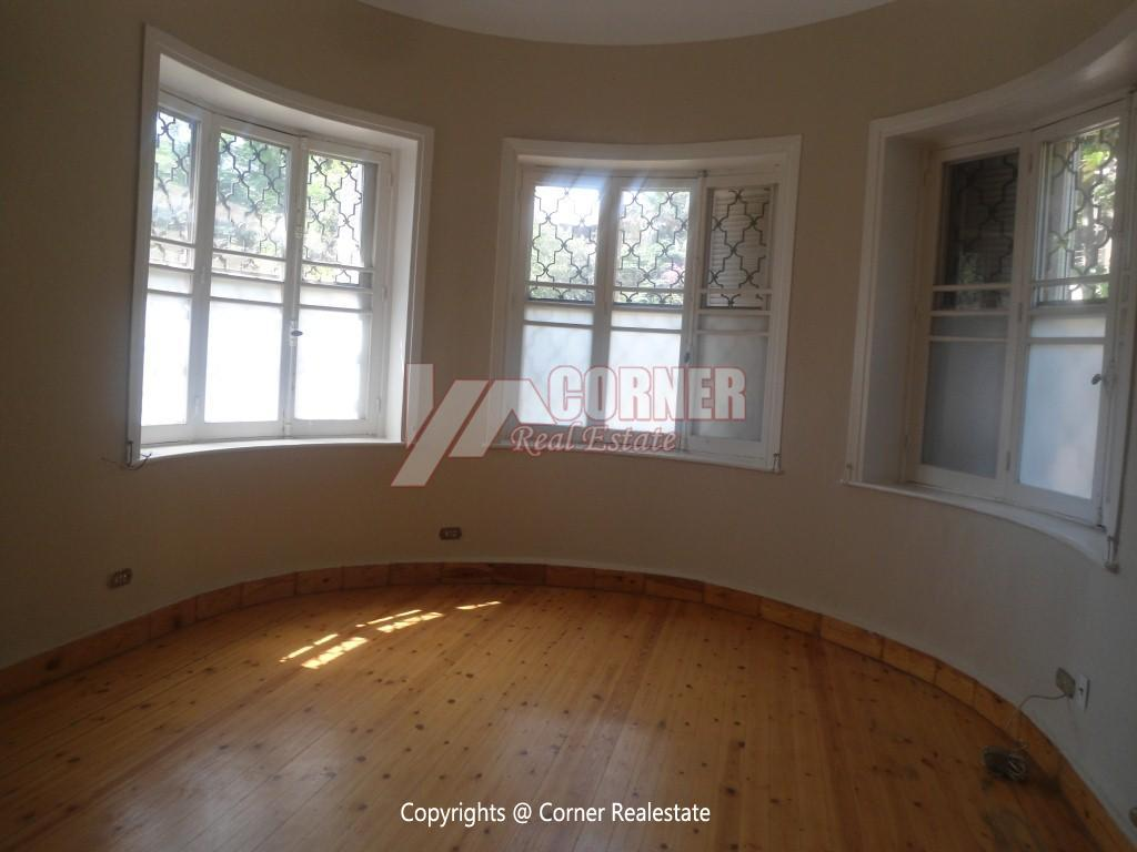 Ground Floor With Private Garden For Rent in Maadi,Semi furnished,Ground Floor NO #4
