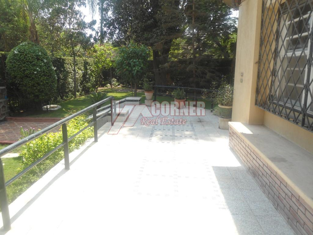 Ground Floor With Private Garden For Rent in Maadi,Semi furnished,Ground Floor NO #19