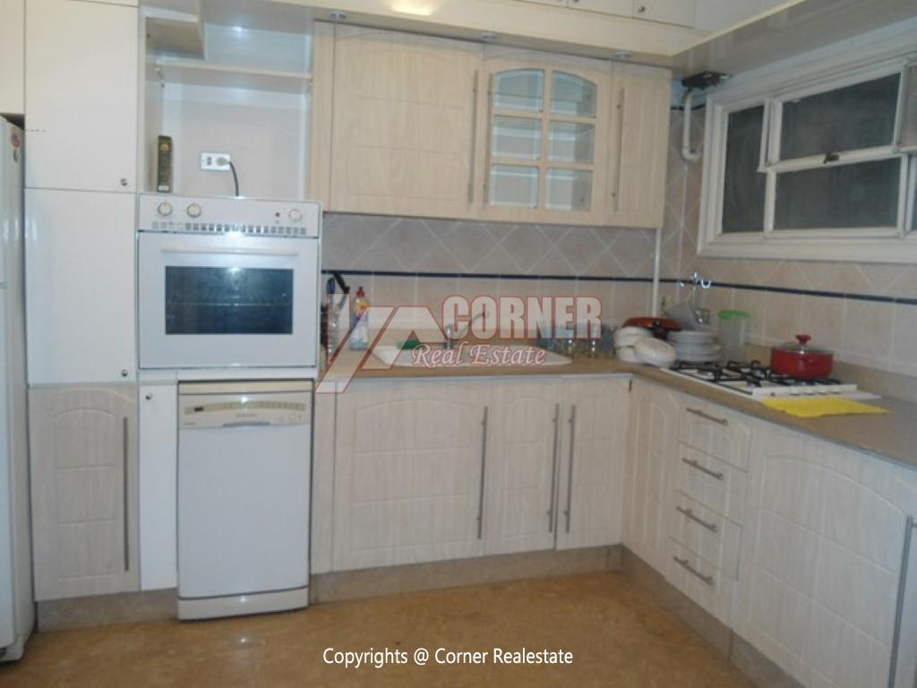 Ground Floor With Private Garden For Rent in Maadi,Modern Furnished,Ground Floor NO #10