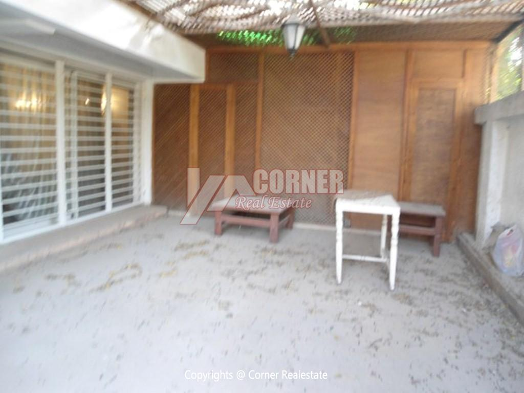 Ground Floor With Private Garden For Rent in Maadi,Modern Furnished,Ground Floor NO #3