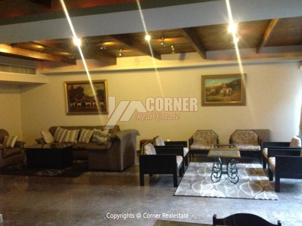 Villa For Rent In Maadi Sarayat,Modern Furnished,Villa NO #7