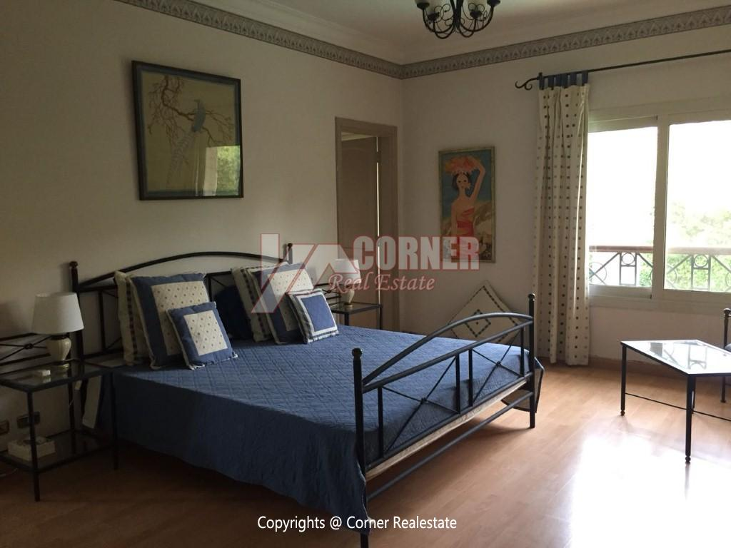 Duplex With Pool For Rent In Katameya Heights,Modern Furnished,Ground Floor NO #20