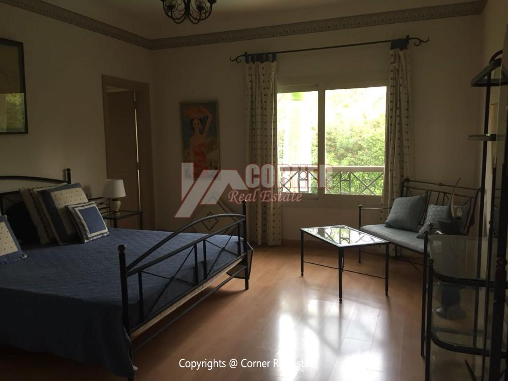 Duplex With Pool For Rent In Katameya Heights,Modern Furnished,Ground Floor NO #27