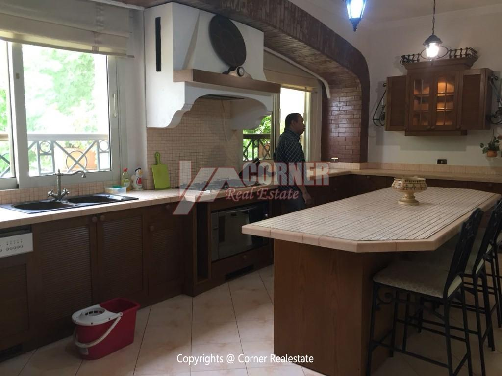 Duplex With Pool For Rent In Katameya Heights,Modern Furnished,Ground Floor NO #28