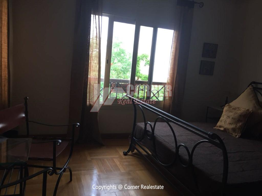 Duplex With Pool For Rent In Katameya Heights,Modern Furnished,Ground Floor NO #16