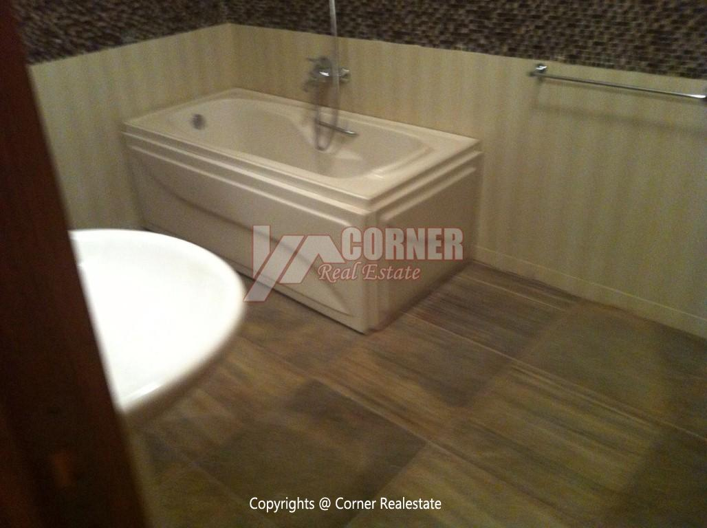 Ground Floor With Pool For Rent in Maadi,Modern Furnished,Ground Floor NO #16