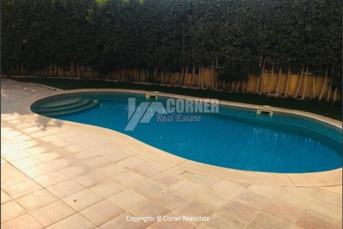 Ground Floor With Pool For Rent In Katameya Heights