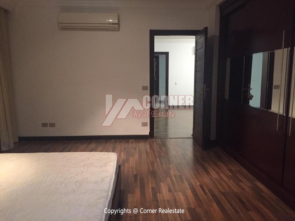 Ground Floor With Pool For Rent In Katameya Heights,Modern Furnished,Ground Floor NO #14