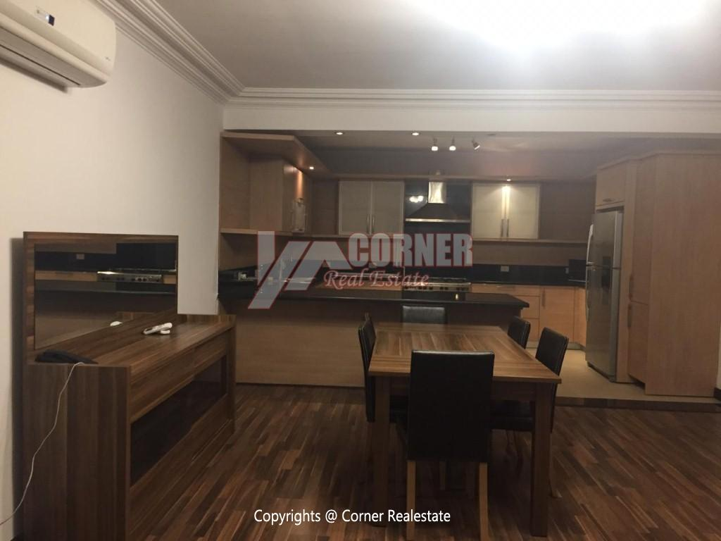 Ground Floor With Pool For Rent In Katameya Heights,Modern Furnished,Ground Floor NO #3