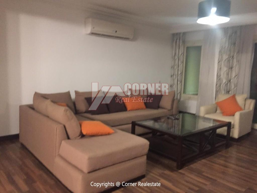 Ground Floor With Pool For Rent In Katameya Heights,Modern Furnished,Ground Floor NO #5