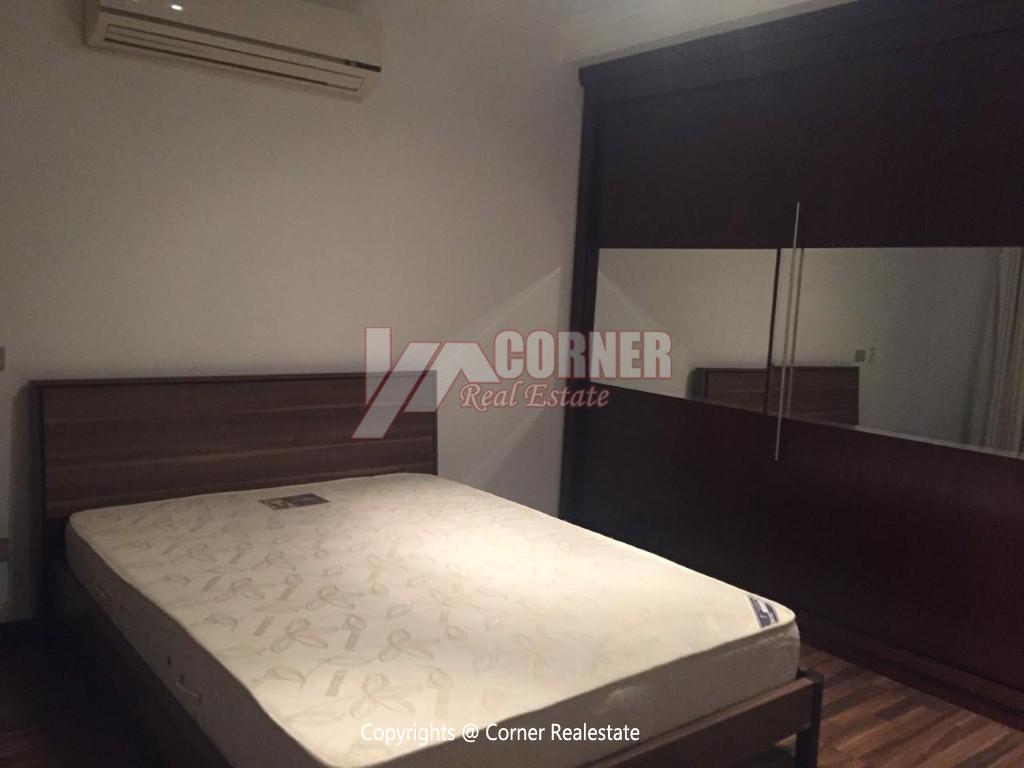 Ground Floor With Pool For Rent In Katameya Heights,Modern Furnished,Ground Floor NO #7