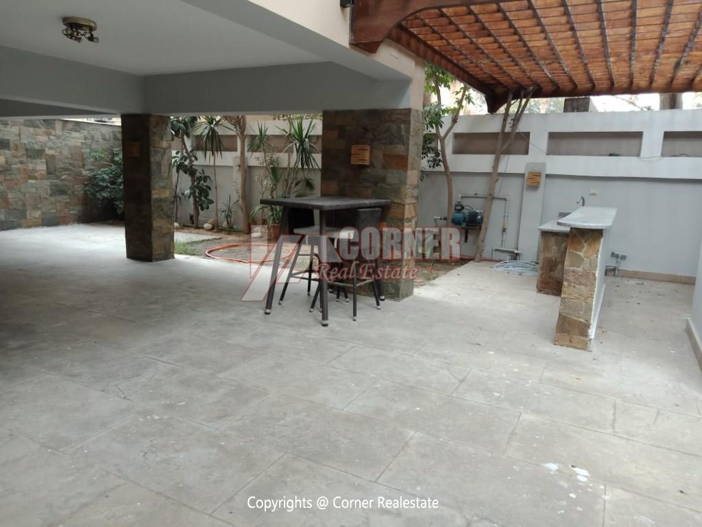 Ground Floor Duplex For Rent in Maadi Sarayat