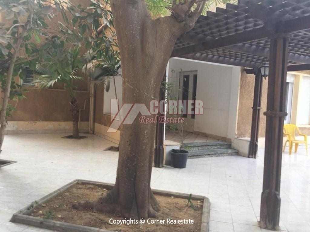 Villa With Swimming Pool For Rent In Maadi,Semi furnished,Villa NO #24