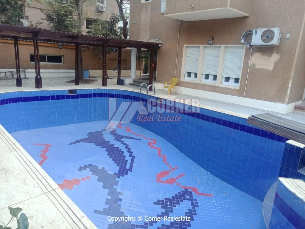 Villa With Swimming Pool For Rent In Maadi,Semi furnished,Villa NO #2