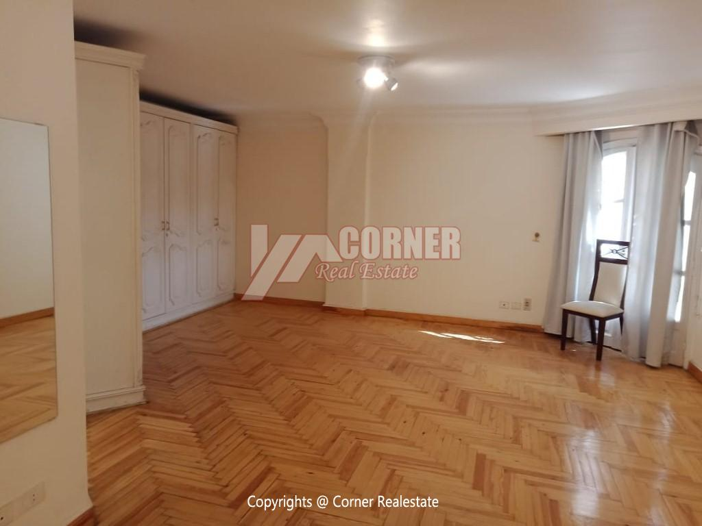 Roof Top For Rent In Maadi Degla,Semi furnished,Penthouse NO #16