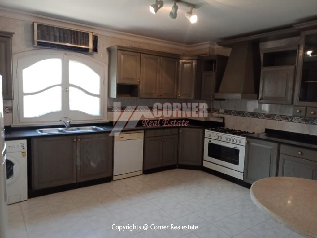 Roof Top For Rent In Maadi Degla,Semi furnished,Penthouse NO #19