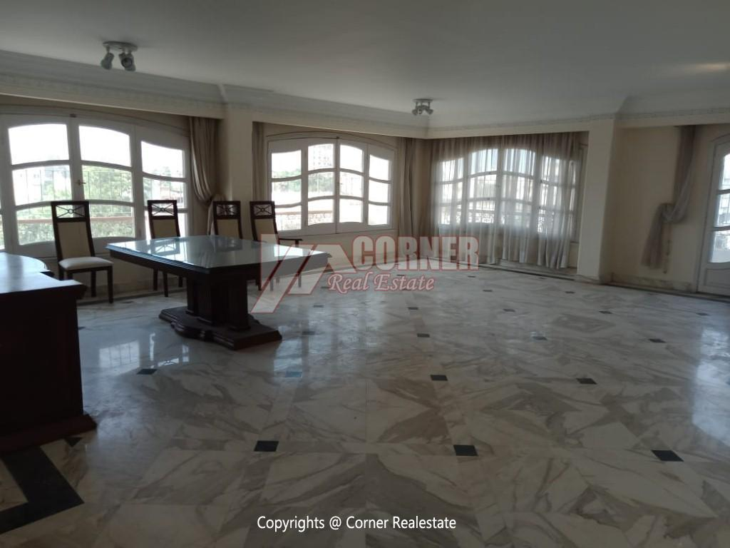Roof Top For Rent In Maadi Degla,Semi furnished,Penthouse NO #25