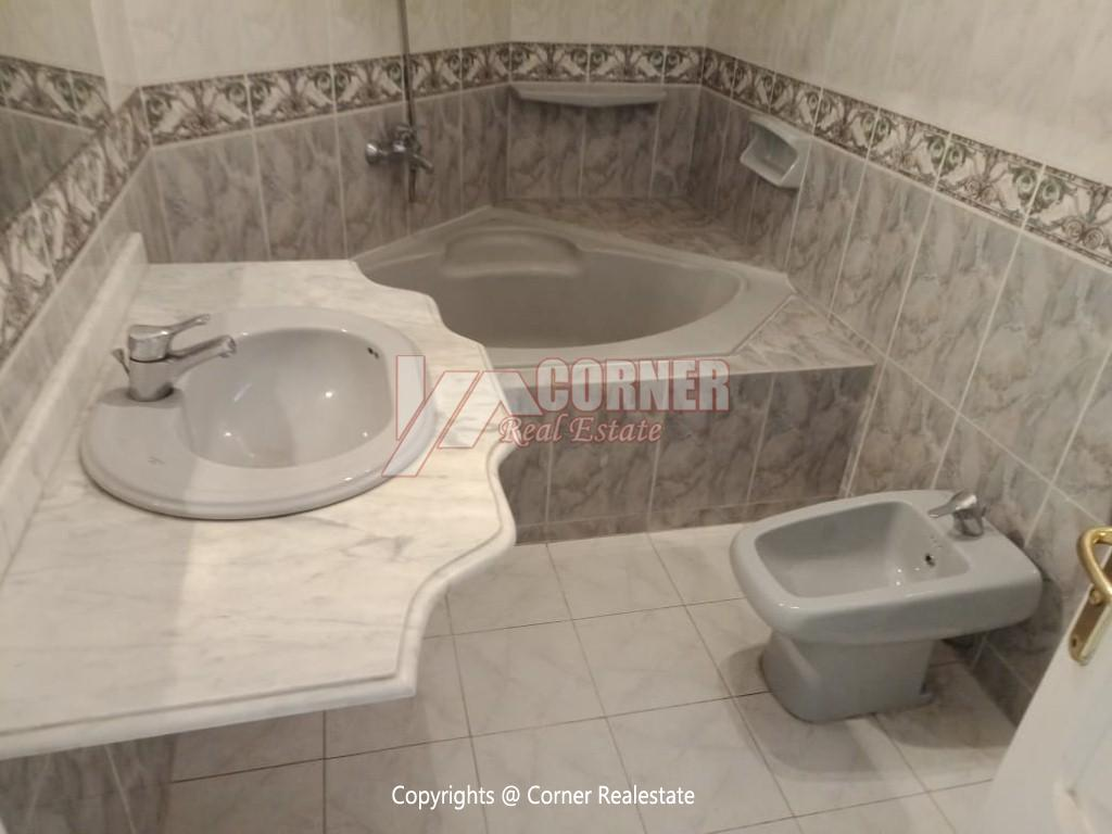 Roof Top For Rent In Maadi Degla,Semi furnished,Penthouse NO #13