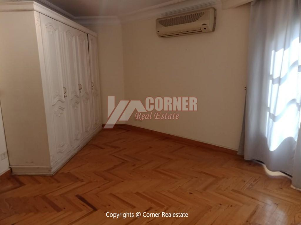 Roof Top For Rent In Maadi Degla,Semi furnished,Penthouse NO #2