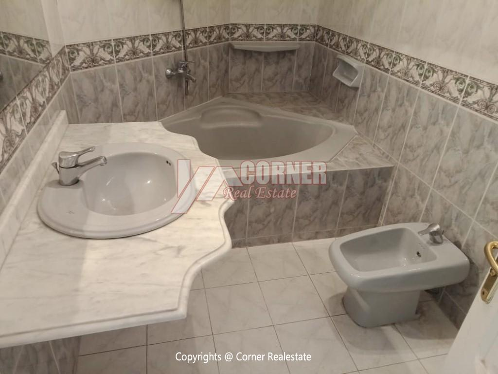 Roof Top For Rent In Maadi Degla,Semi furnished,Penthouse NO #5