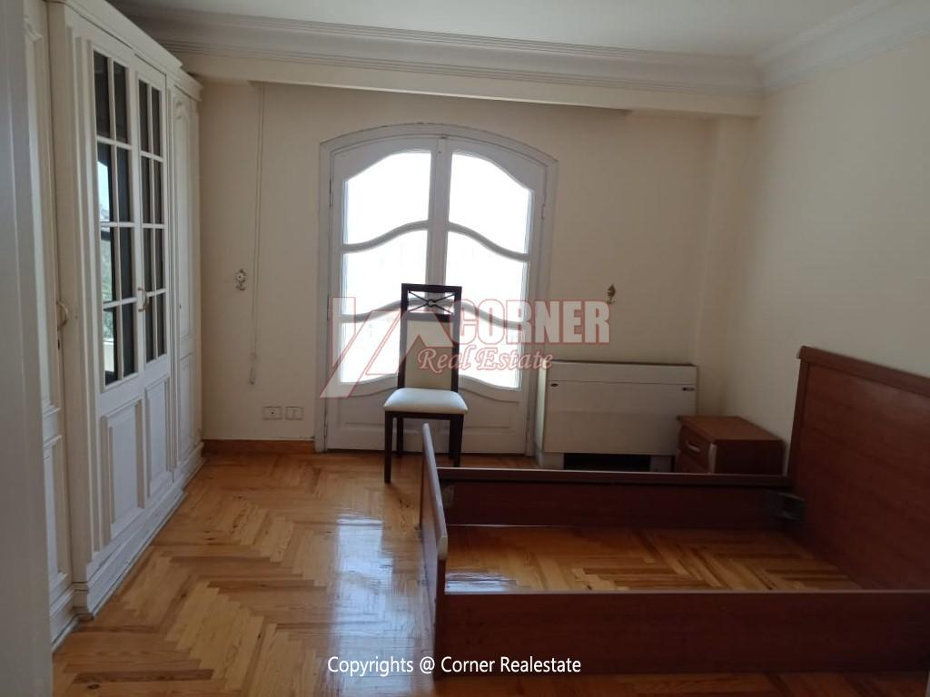 Roof Top For Rent In Maadi Degla,Semi furnished,Penthouse NO #6