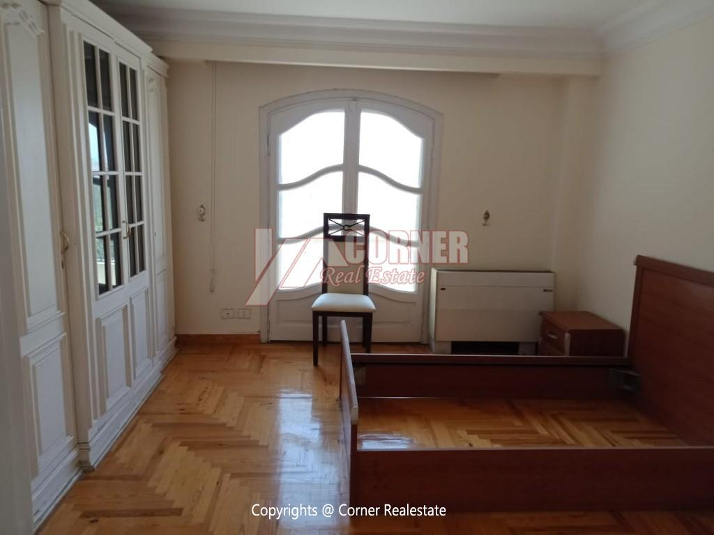 Roof Top For Rent In Maadi Degla,Semi furnished,Penthouse NO #7