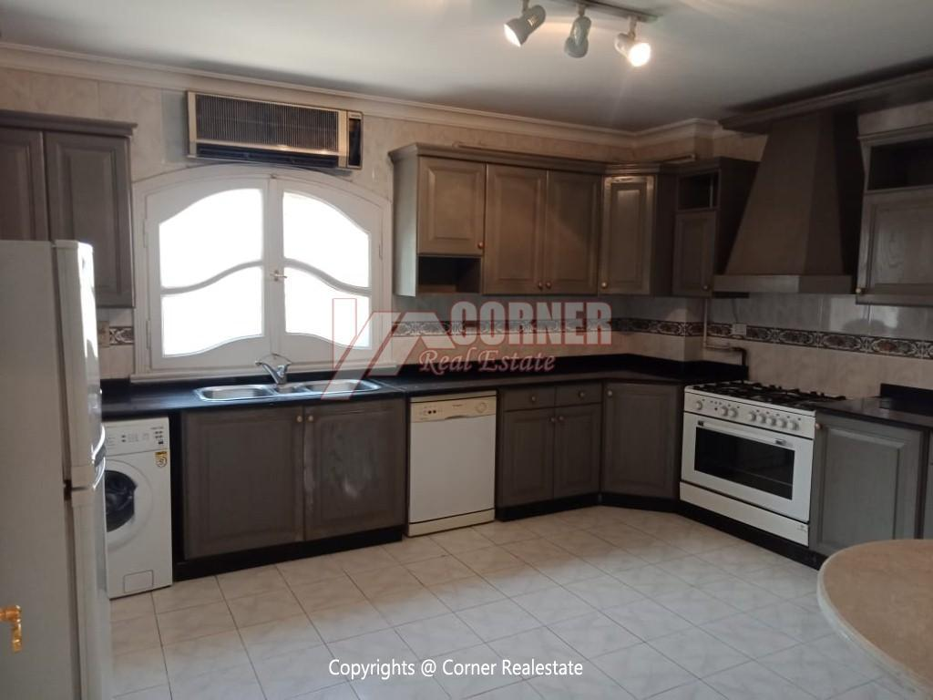 Roof Top For Rent In Maadi Degla,Semi furnished,Penthouse NO #8