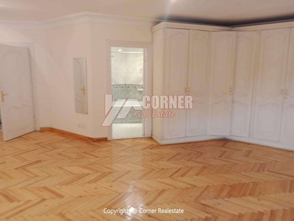 Roof Top For Rent In Maadi Degla,Semi furnished,Penthouse NO #9