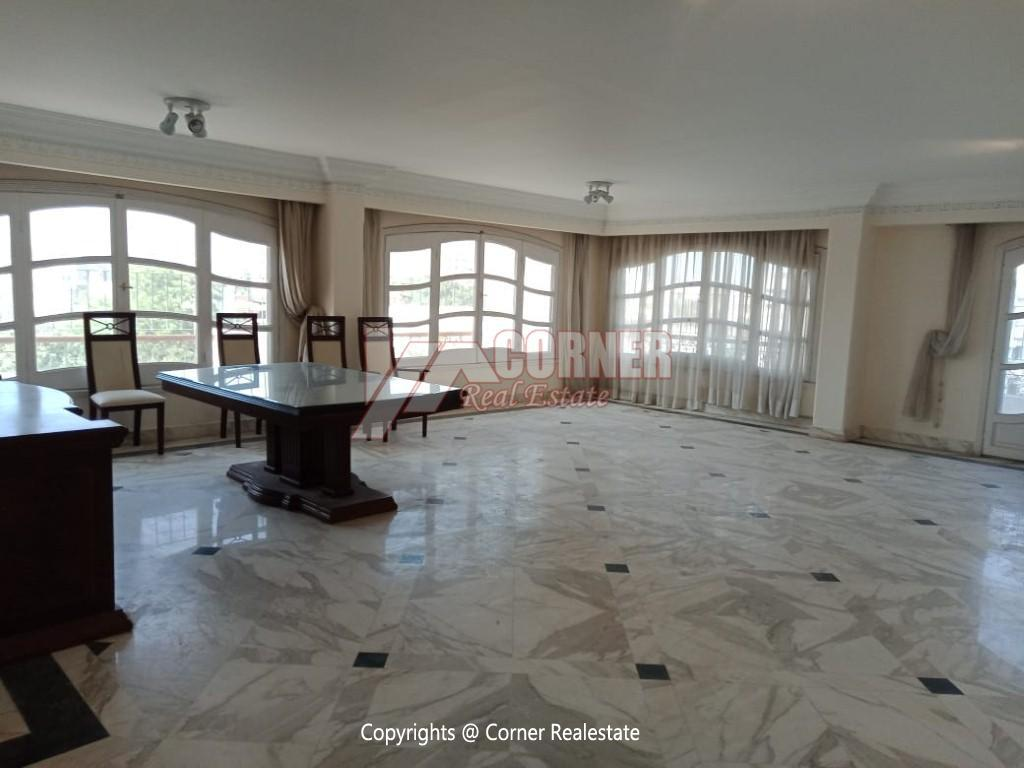 Roof Top For Rent In Maadi Degla,Semi furnished,Penthouse NO #11
