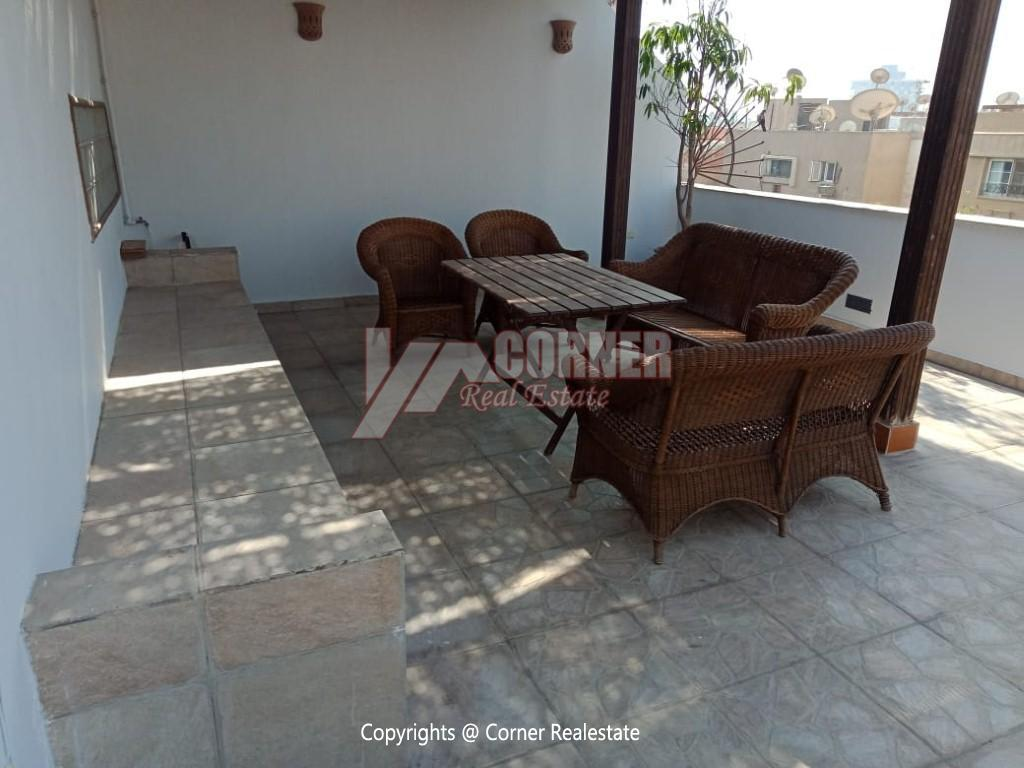 Penthouse For Rent In Maadi Degla,Modern Furnished,Penthouse NO #19