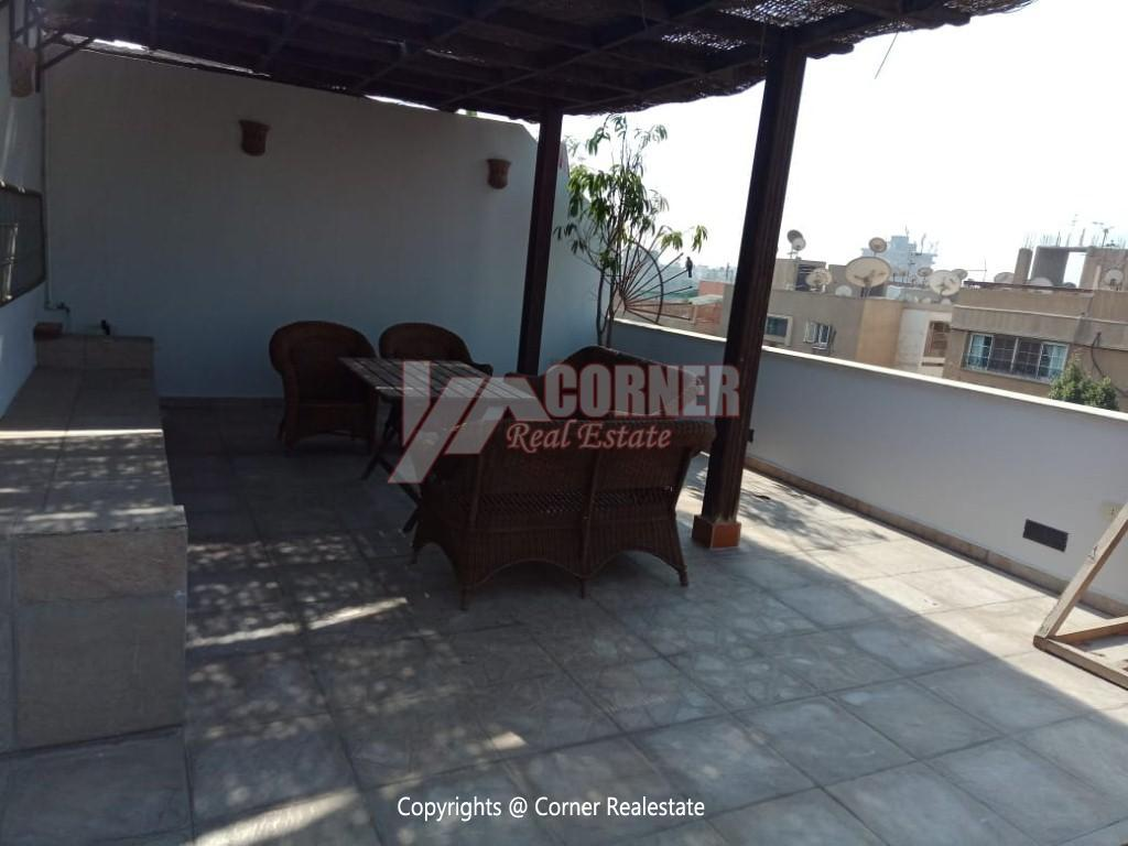 Penthouse For Rent In Maadi Degla,Modern Furnished,Penthouse NO #2