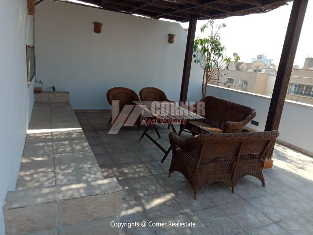 Penthouse For Rent In Maadi Degla,Modern Furnished,Penthouse NO #13