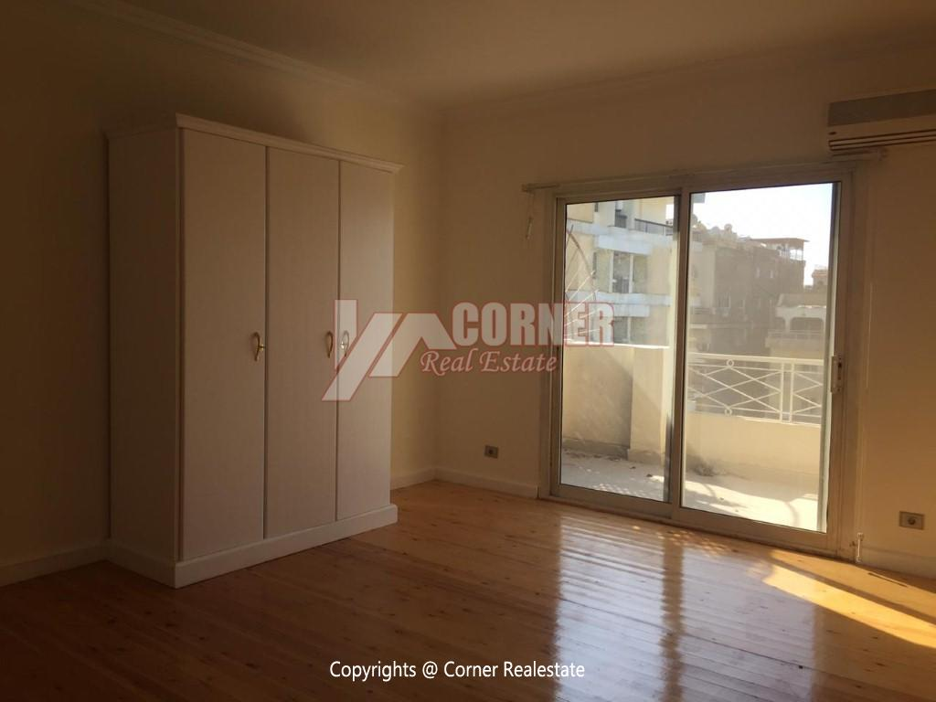 Penthouse For Rent In Maadi Sarayat,Semi furnished,Penthouse NO #21