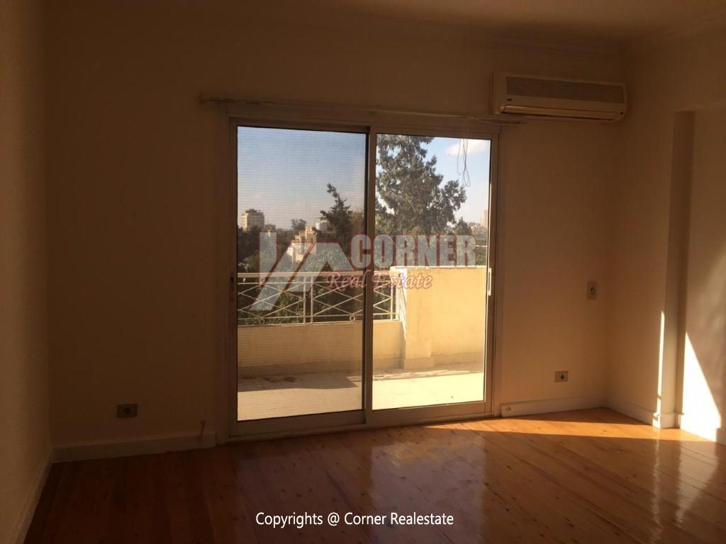 Penthouse For Rent In Maadi Sarayat,Semi furnished,Penthouse NO #25