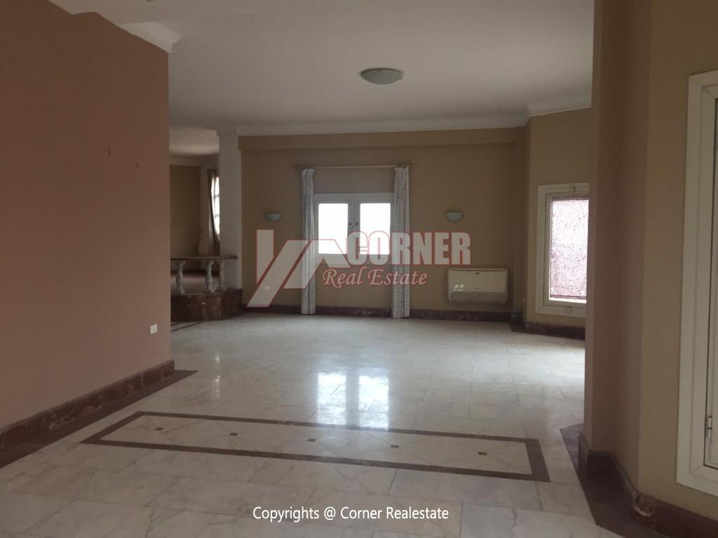 Penthouse For Rent In Maadi Sarayat,Semi furnished,Penthouse NO #3