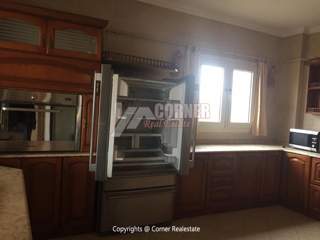 Penthouse For Rent In Maadi Sarayat,Semi furnished,Penthouse NO #5
