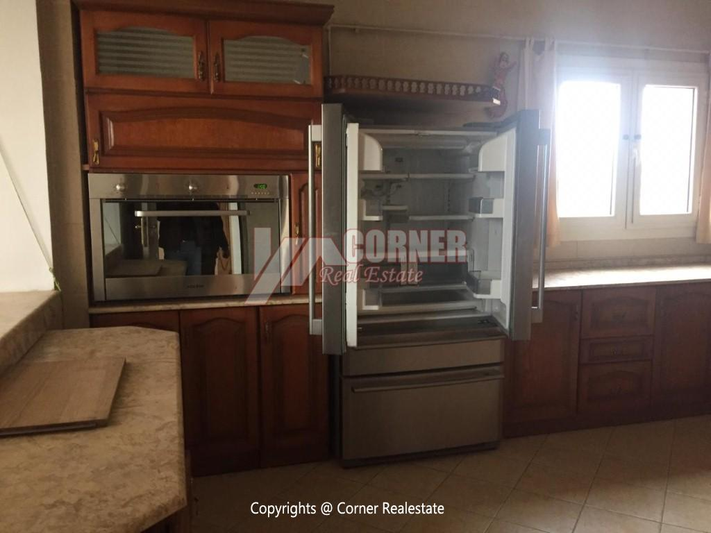 Penthouse For Rent In Maadi Sarayat,Semi furnished,Penthouse NO #8