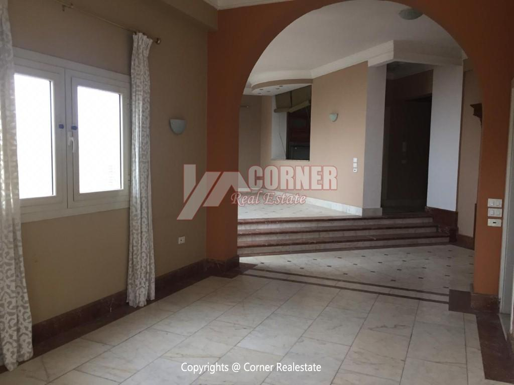 Penthouse For Rent In Maadi Sarayat,Semi furnished,Penthouse NO #27