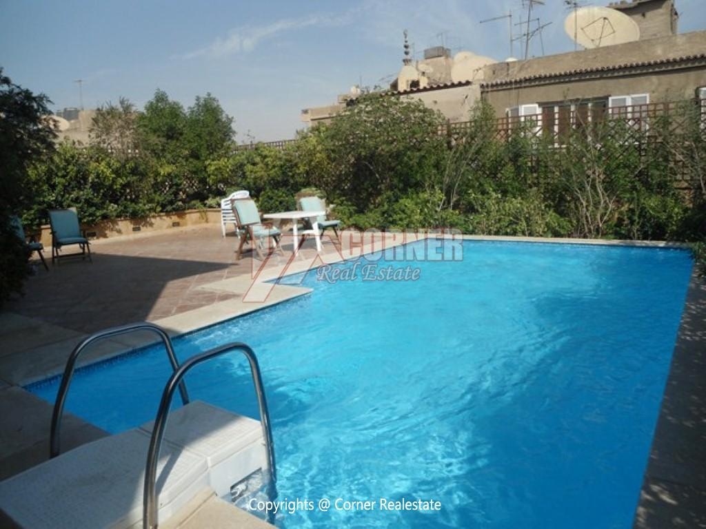 Penthouse For Rent In Maadi Degla,Semi furnished,Penthouse NO #1