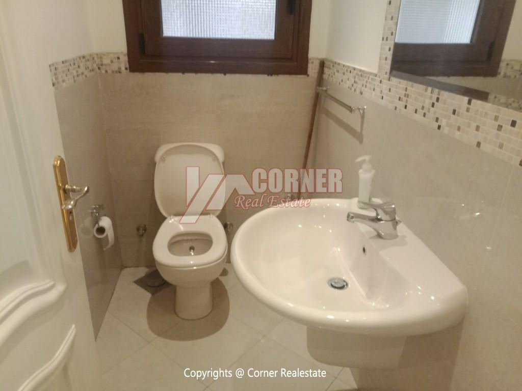 Penthouse For Rent In Maadi Degla,Semi furnished,Penthouse NO #16