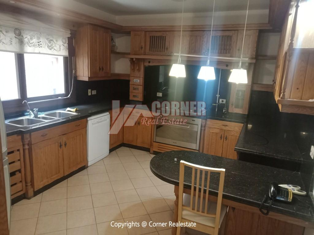 Penthouse For Rent In Maadi Degla,Semi furnished,Penthouse NO #18
