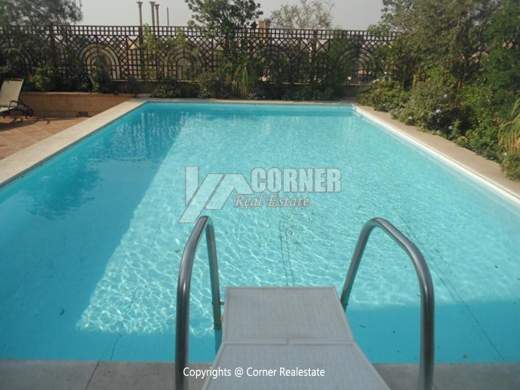 Modern Apartment For Rent In Maadi Sarayat,Semi furnished,Apartment NO #1