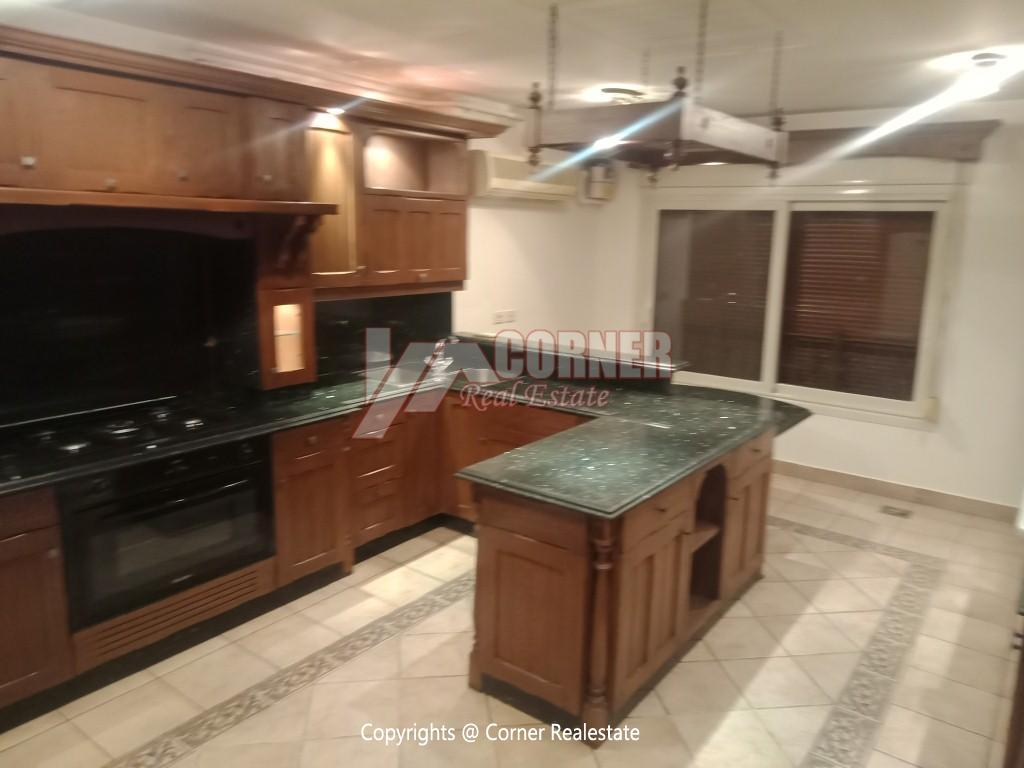 Modern Apartment For Rent In Maadi Sarayat,Semi furnished,Apartment NO #24