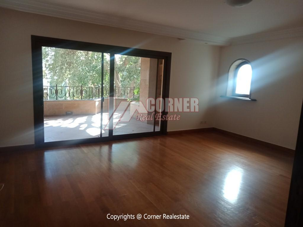 Modern Apartment For Rent In Maadi Sarayat,Semi furnished,Apartment NO #8
