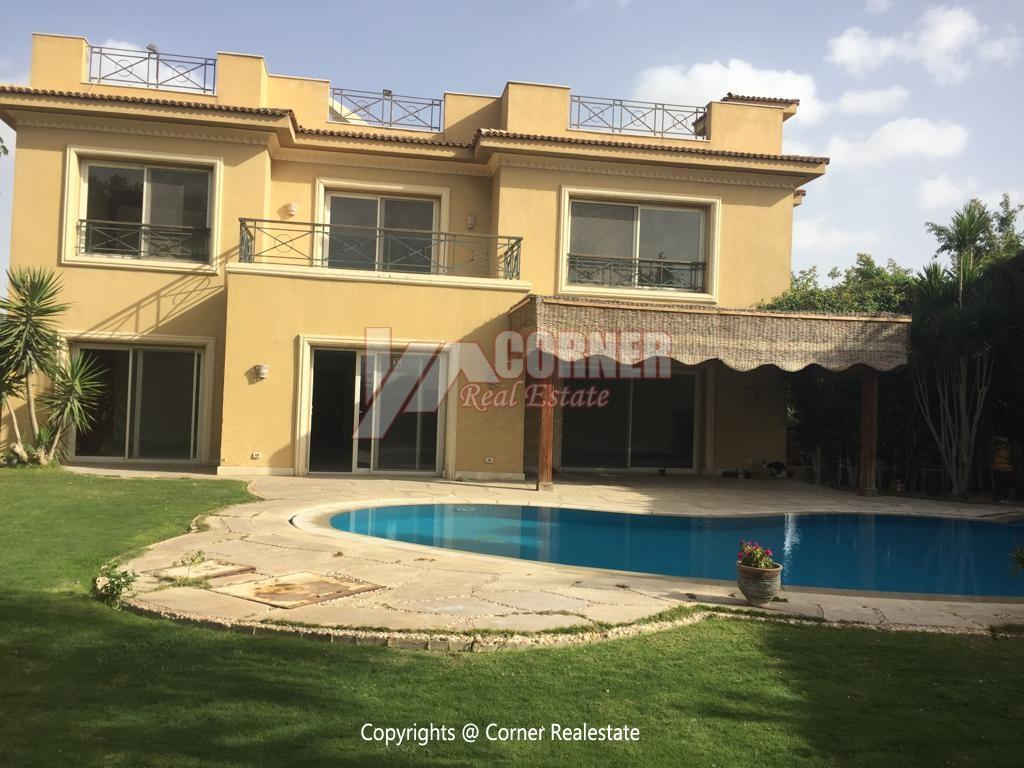 Villa With Swimming Pool For Rent In Katameya Heights
